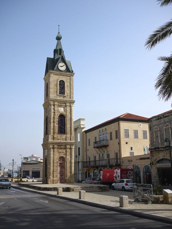 jaffa clock tower tel aviv