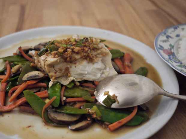 chinese cantonese steamed fish ausplendor